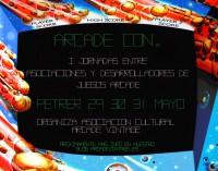 """""""Arcade Con"""" Una cita con el retro."""