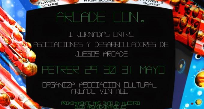 «Arcade Con» Una cita con el retro.
