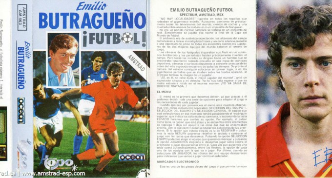 Retrorecomendación de la semana: Emilio Butragueño ¡Fútbol!