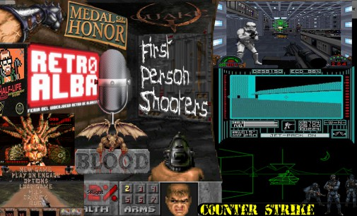 RetroAlba Podcast Episodio 16. Retro FPS – First Person Shooters