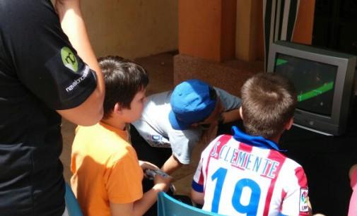 RetroAlba en la 3ª feria de Stock de Casas Ibañez
