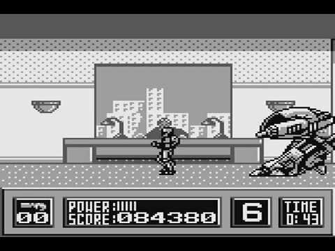 Robocop para Game Boy: del Spectrum a la portátil