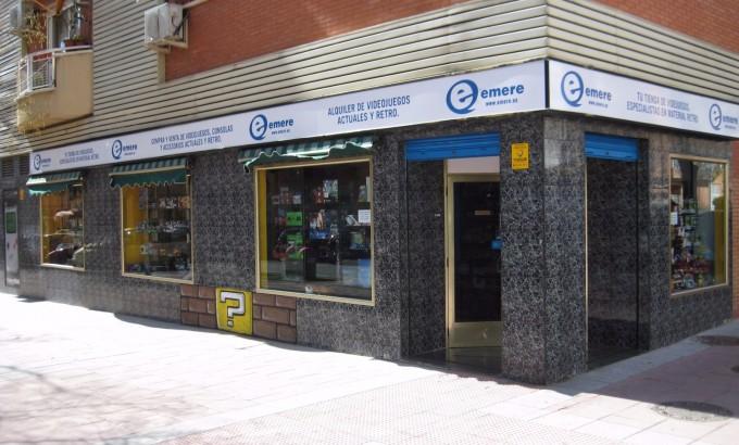 La primera tienda Emere situada en la calle Teruel de Torrejón de Ardoz