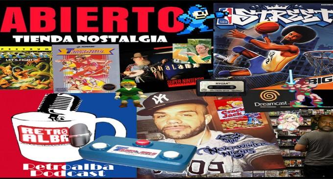 RetroAlba Podcast Episodio 28. La tienda de videojuegos de nuestra infancia: «Ordemanía y Charlietricks».