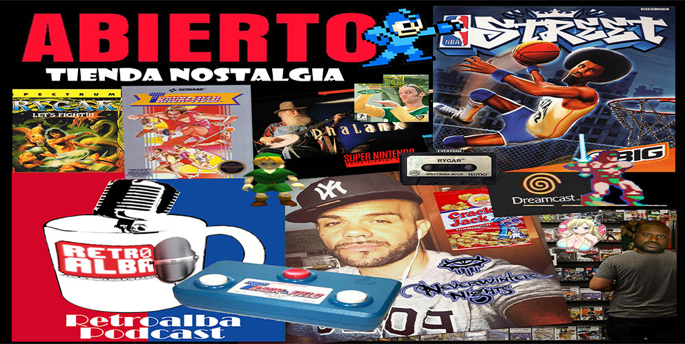 """RetroAlba Podcast Episodio 28. La tienda de videojuegos de nuestra infancia: """"Ordemanía y Charlietricks""""."""