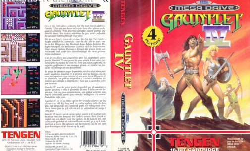 GameCenter Retroalba Episodio 2 Gauntlet IV Megadrive/Genesis