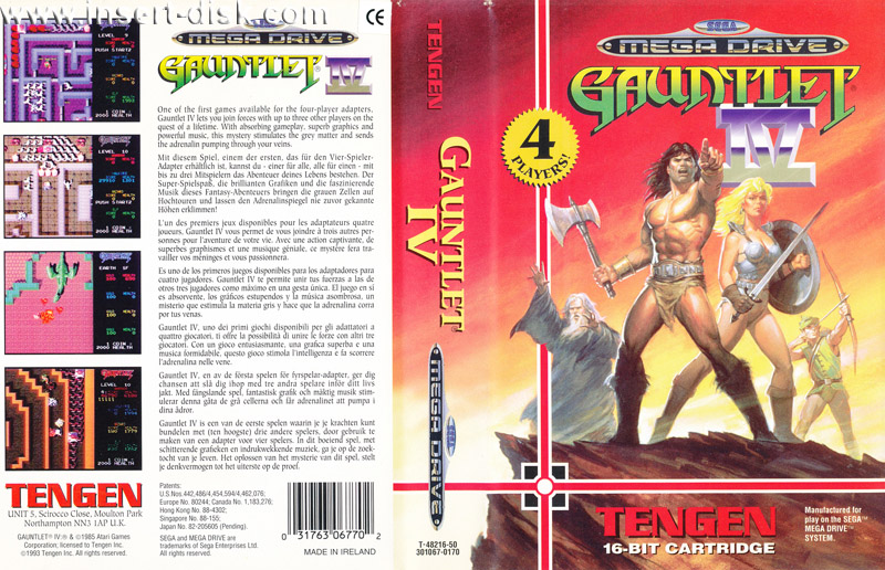 GameCenter Retroalba Episodio 2 Gauntlet IV Megadrive/Genesis