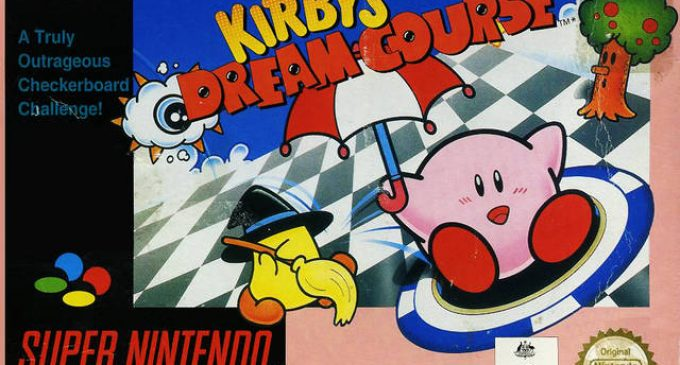 GameCenter RetroAlba episodio 9 Kirby's Dream Course Snes