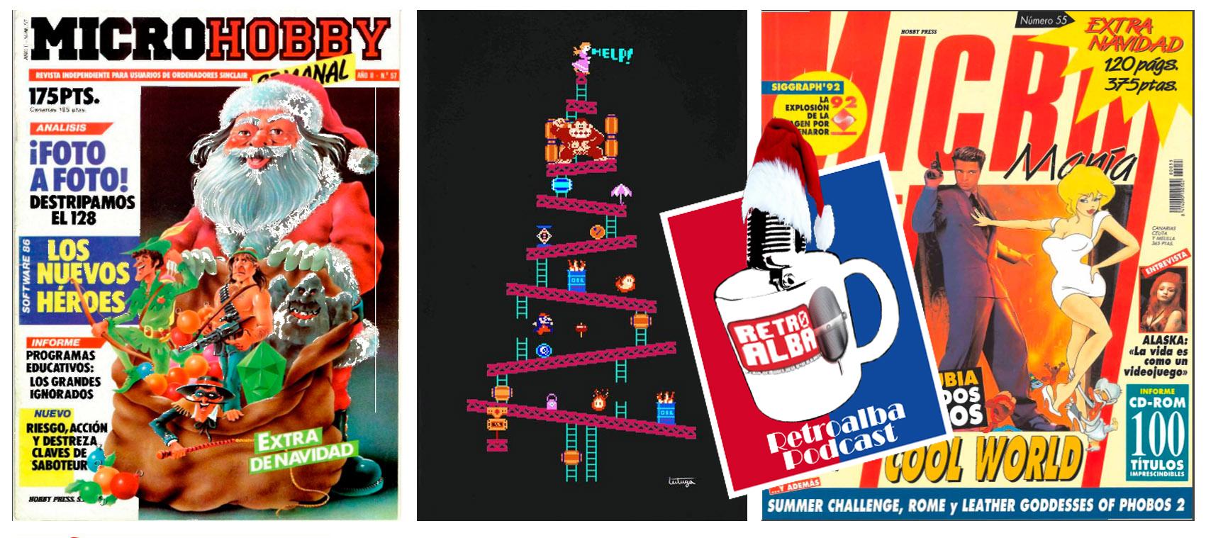 Retroalba Podcast Episodio 36: Especial Navidad y Revistas de videojuegos. Vol.1
