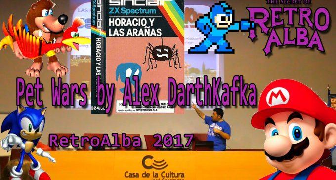RetroAlba 2017 Charla Pet Wars by Alex DarthKafka