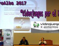 """RetroAlba 2017 """"Videojuegos por el hambre"""" por Santiago Valero"""