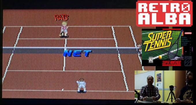 GameCenter RetroAlba episodio 15 Super Tennis