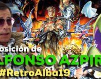 Exposición de Alfonso Azpiri en Retroalba 2019.