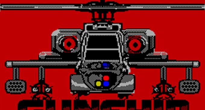 Gameplay: «Gunship» (Spectrum)