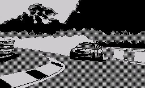 Gameplay: «Drift» (Spectrum)
