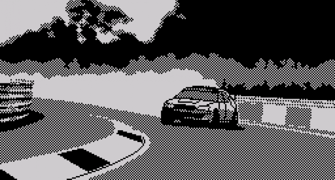 Gameplay: «Drift» (Spectrum)
