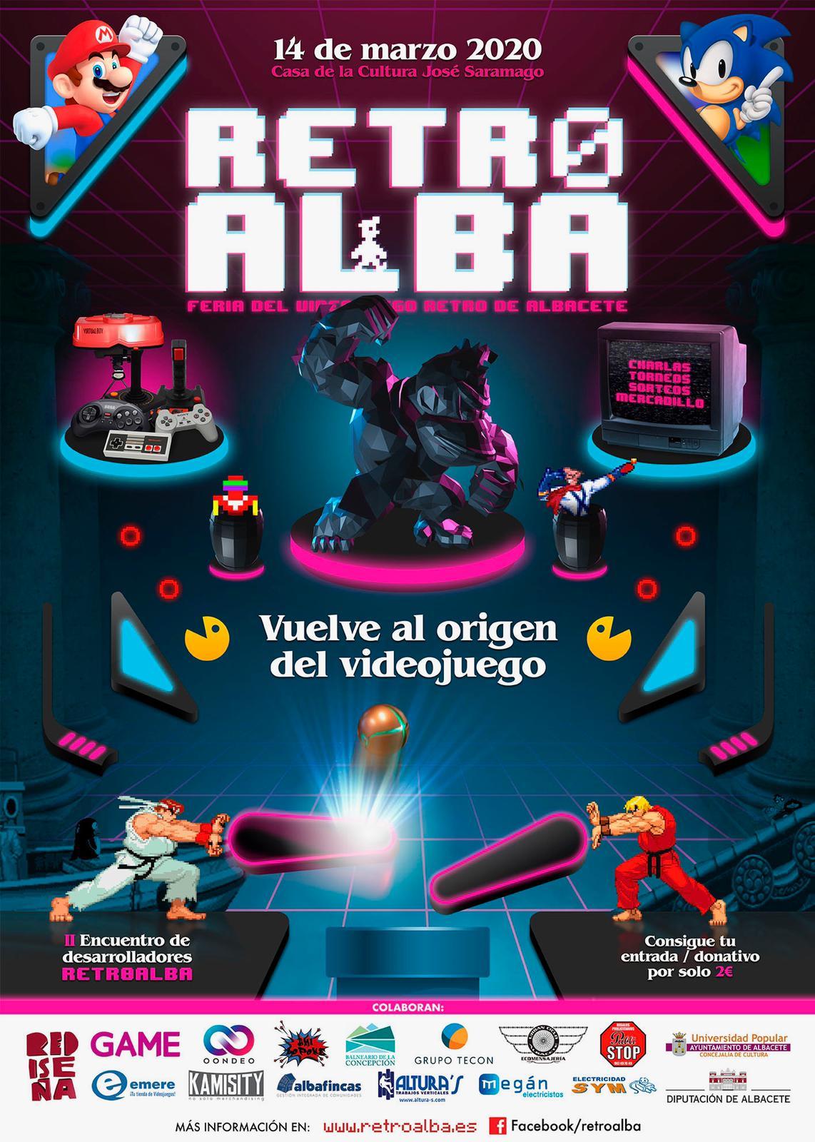 Cartel de RetroAlba 2020